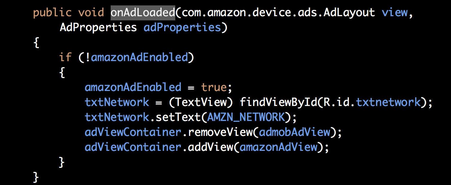 You Can Get Additional Properties About The Ad Being Served At Runtime  Through Adproperties These Properties Can Help Determine If Your Ad Is A  Static