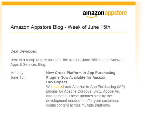Amazon Developer Blogs