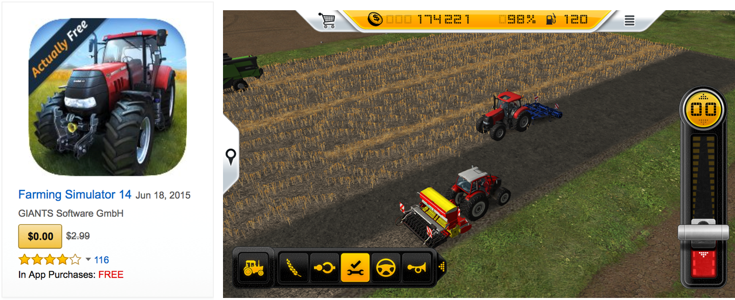 downloads of farming simulator 14 more than triple within one