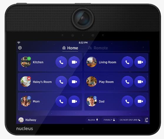 Back chat intercom