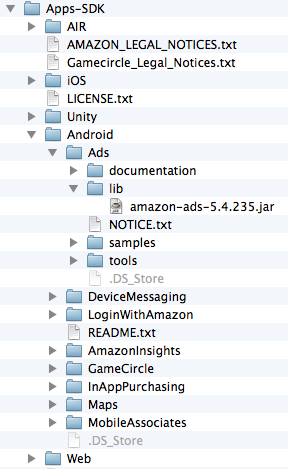Get Started with the Amazon Mobile Ads API in Your Android Java App