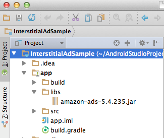 Get Started with the Amazon Mobile Ads API in Your Android