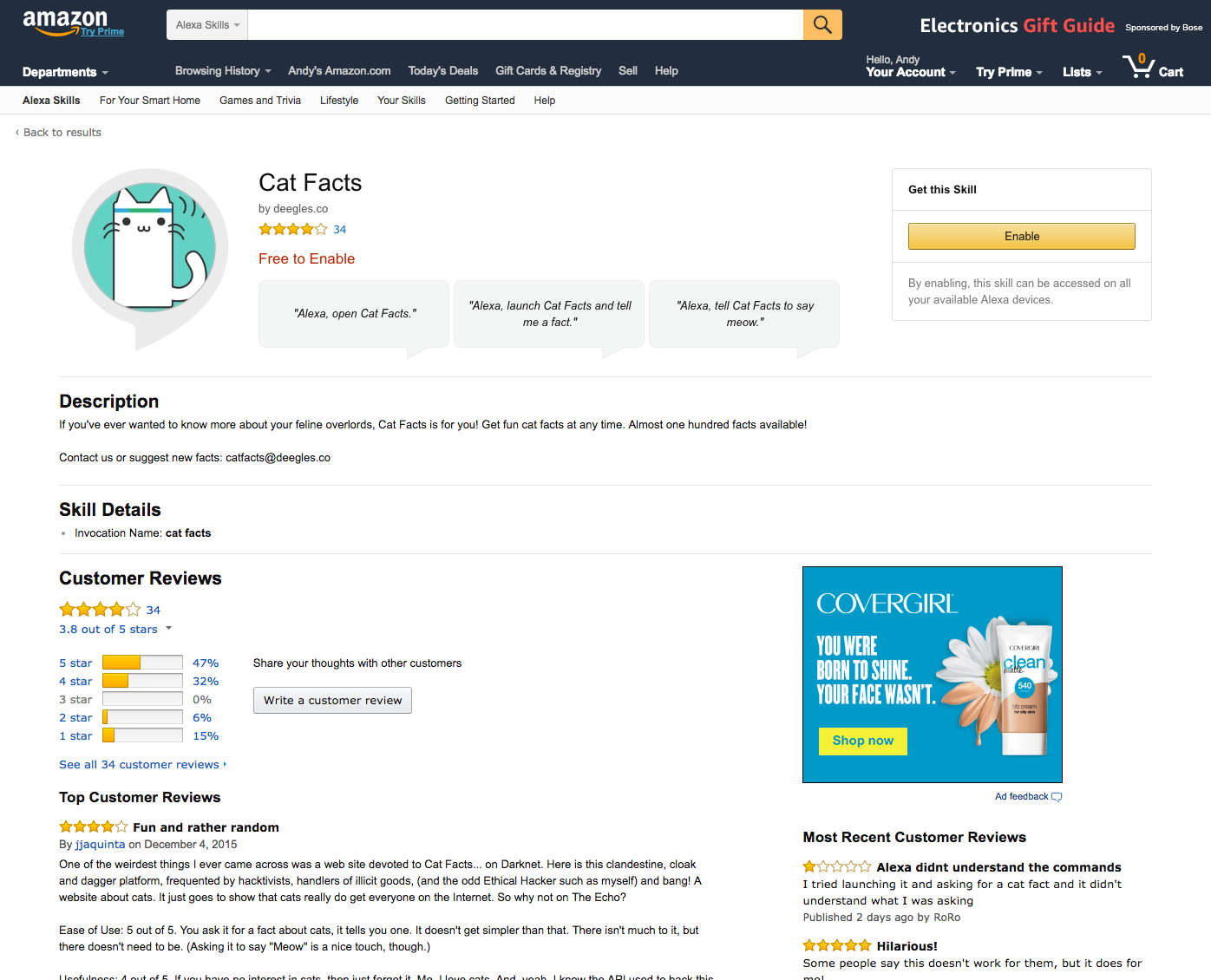 Introducing Detail Pages on Amazon com to Increase Discovery and Use