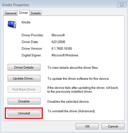 Setting up the ADB Driver for Kindle Fire Devices : Appstore