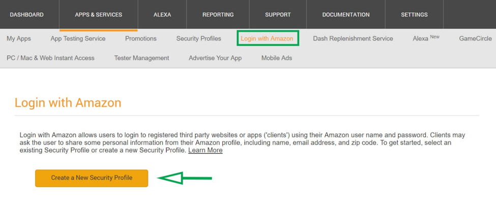 Tutorial: Login with Amazon Integrations - Auth0 : Appstore Blogs