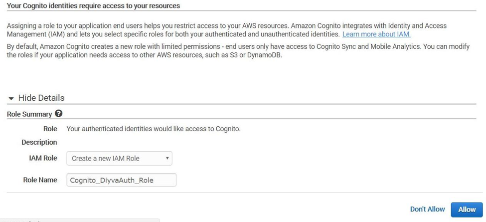 Login with Amazon Integrations: Amazon Cognito : Appstore Blogs