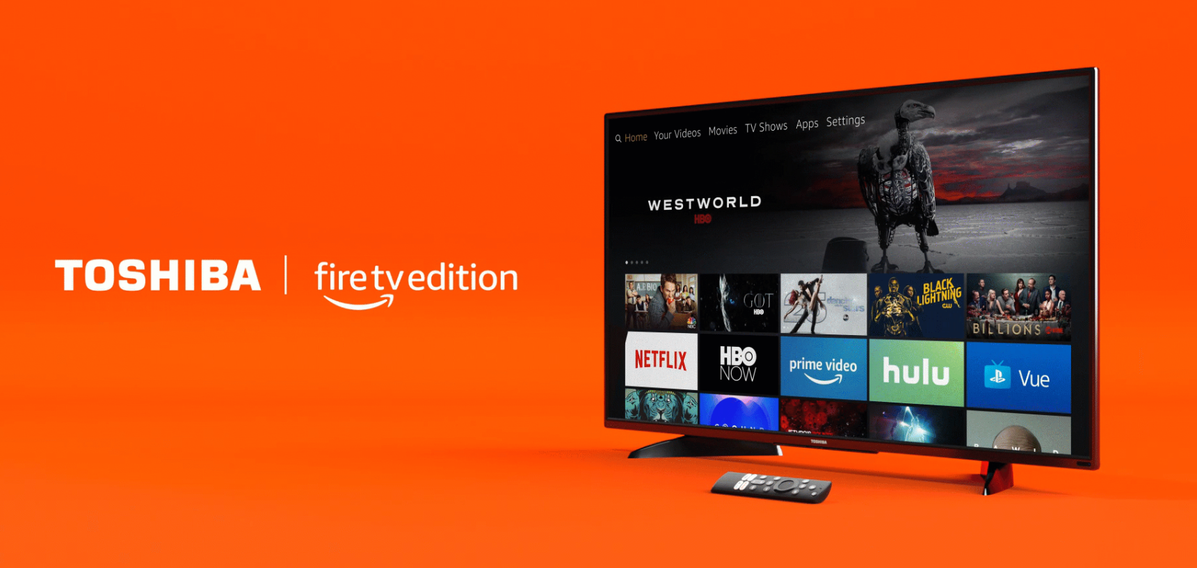 Now Shipping: Toshiba 4K Ultra HD - Fire TV Edition, a New