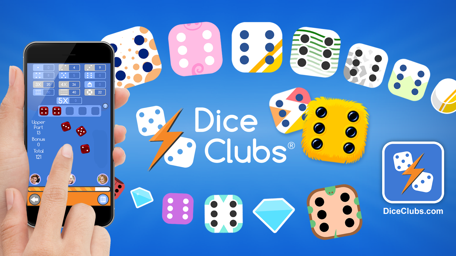 Dice Clubs Banner