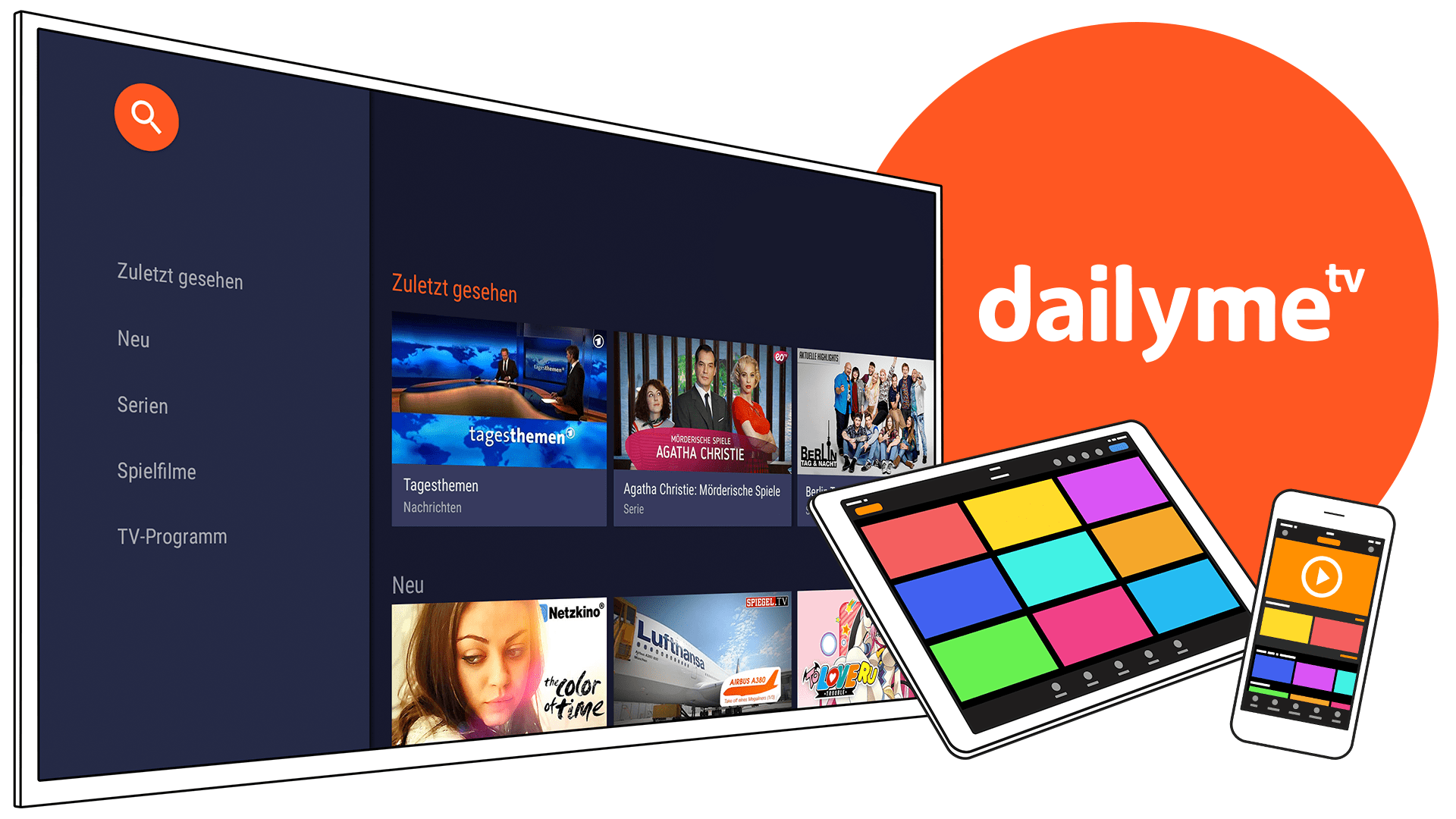 dailyme TV header