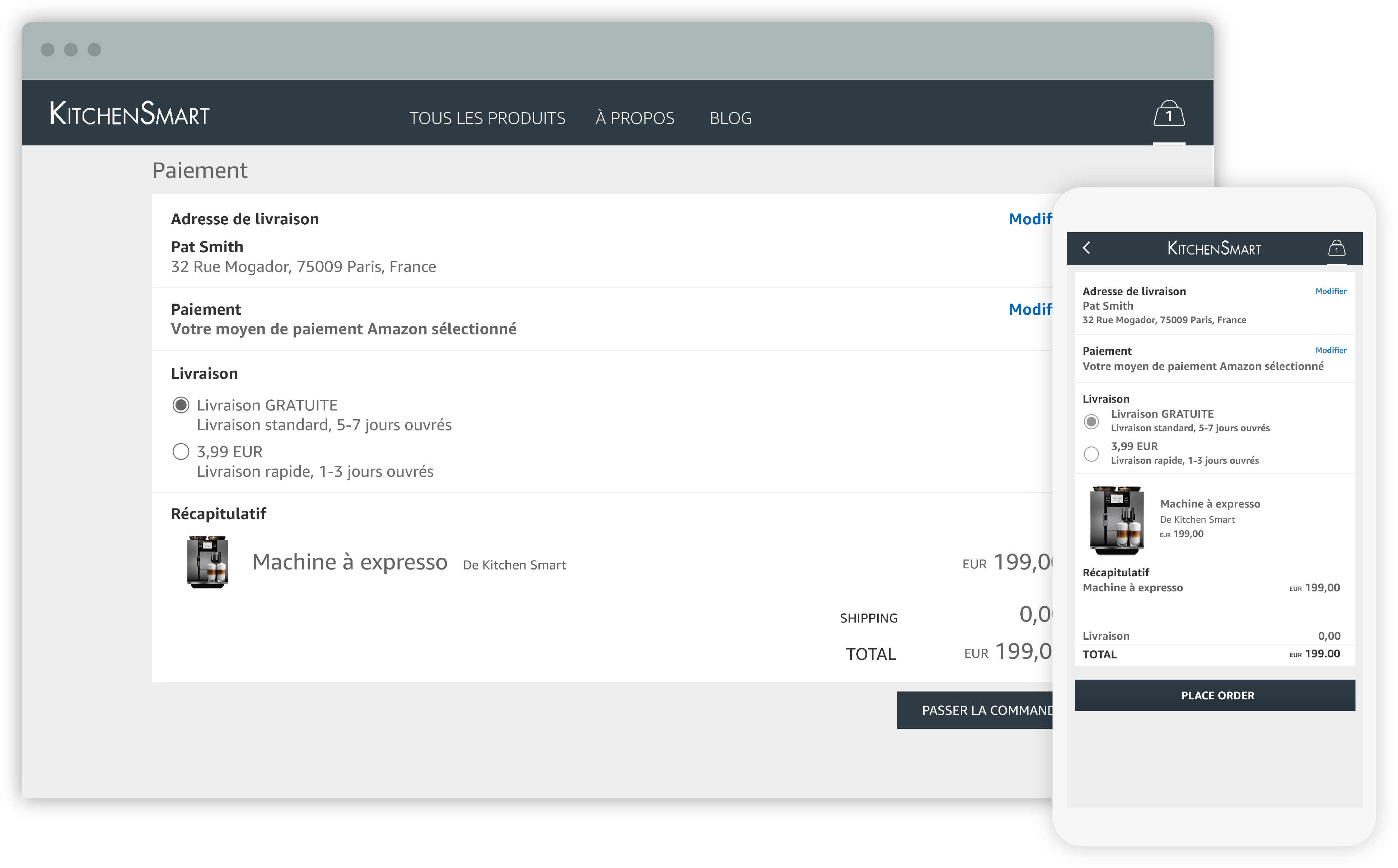 Paiement en ligne avec Pay