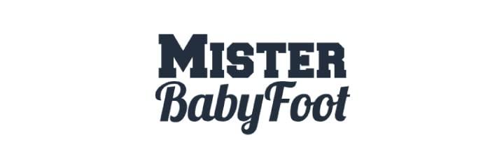 Mister BabyFoot Logo