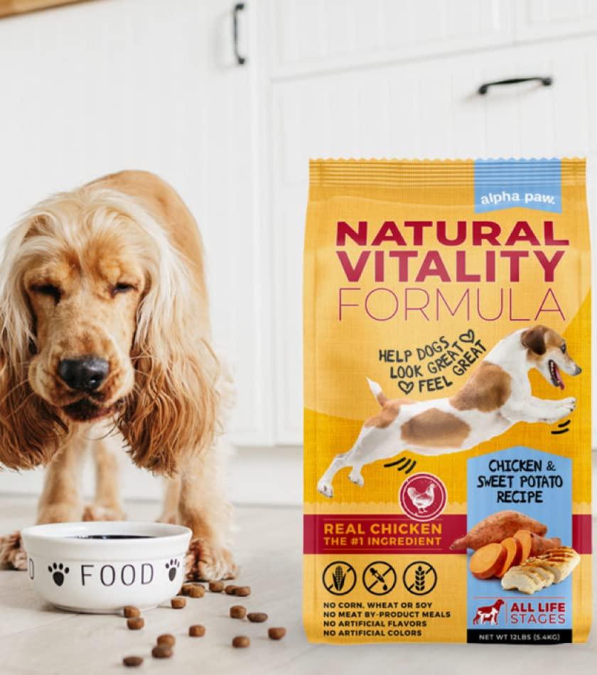 Natural Vitality Dog Food