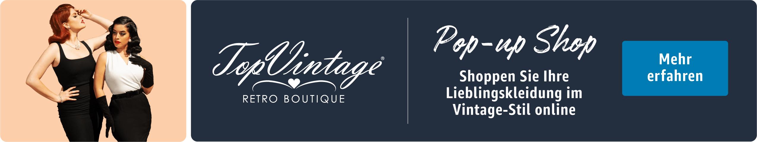 Shoppen Sie hier Ihre Lieblingskleidung im Vintage-Stil. Damenmode inspiriert von den Looks aus der Vergangenheit.