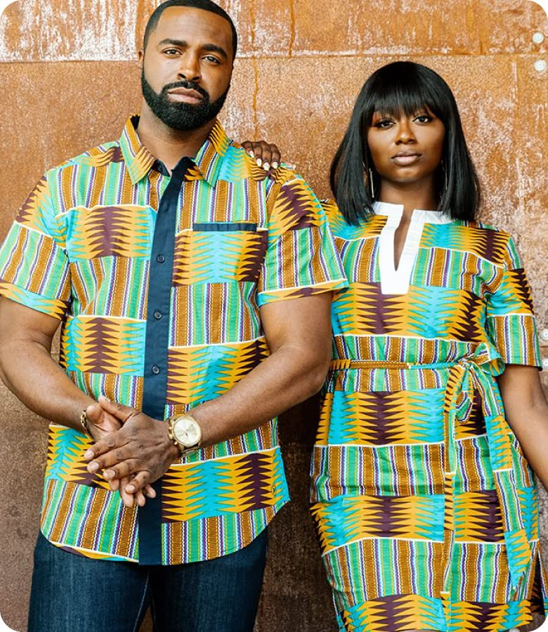 The African clothing brand bringing bold prints and confidence to their community