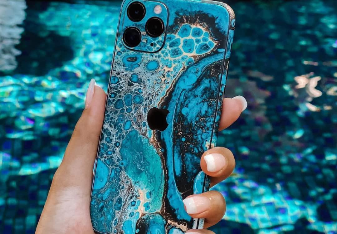 EasySkinz iPhone 11 Pro Signature Marbleised Reef Skin