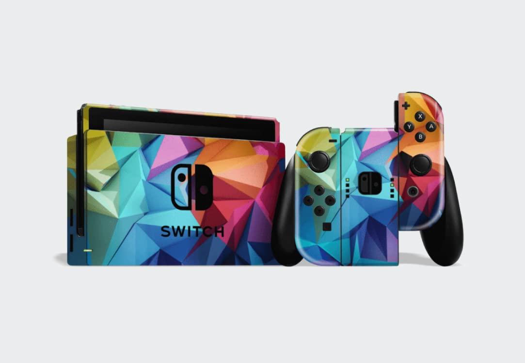EasySkinz Nintendo Switch Signature Abstract Geometry Skin