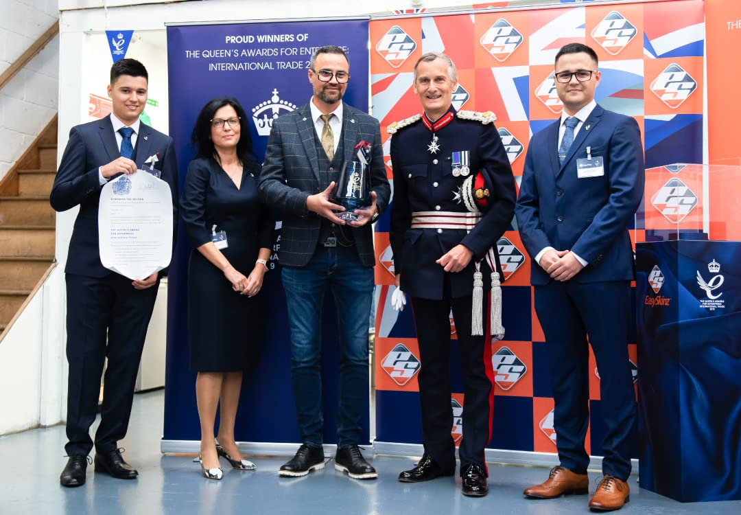 EasySkinz wins the Queen's Award For Enterprise