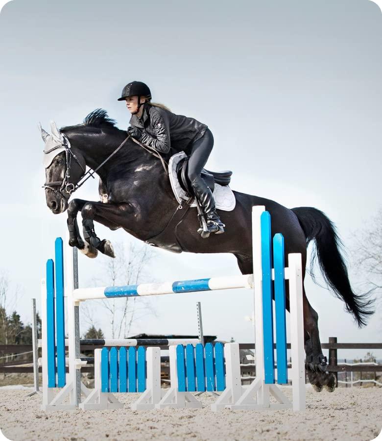 Die Entwicklung von Reitbekleidung, mit der die Bindung zwischen Pferd und Reiter gefördert wird