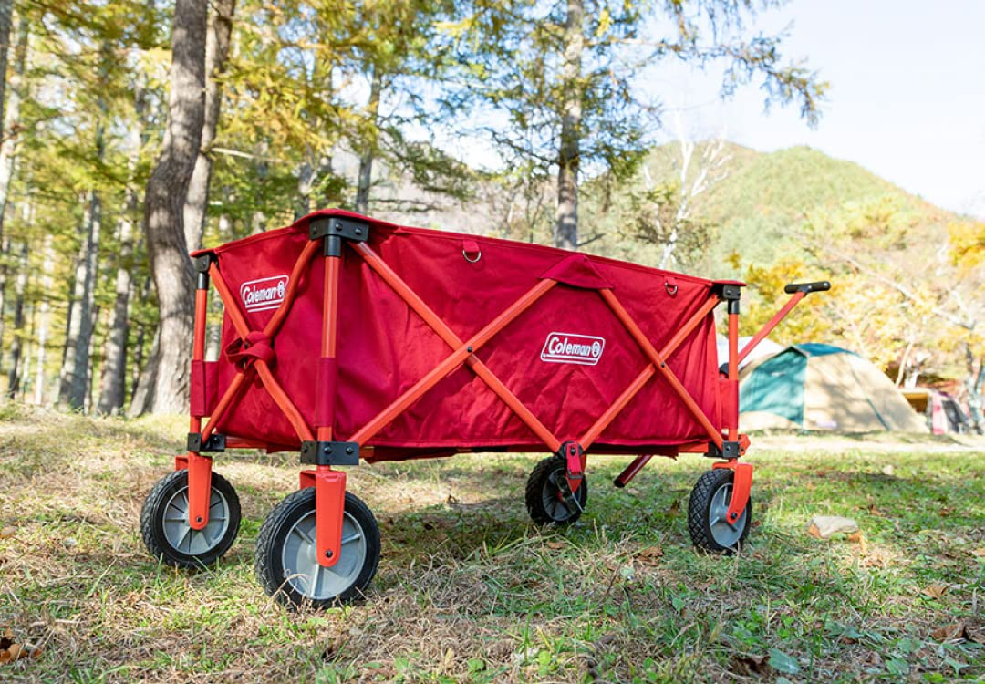 Just Kampers Coleman Outdoor Camping Folding Rugged Wagon