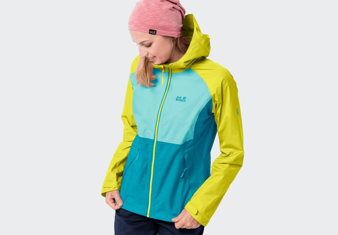 Nevisport Jack Wolfskin Women's Mount Isa Waterproof Jacket