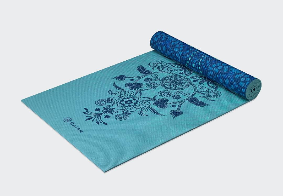 Gaiam Reversible Mystic Sky Yoga Mat