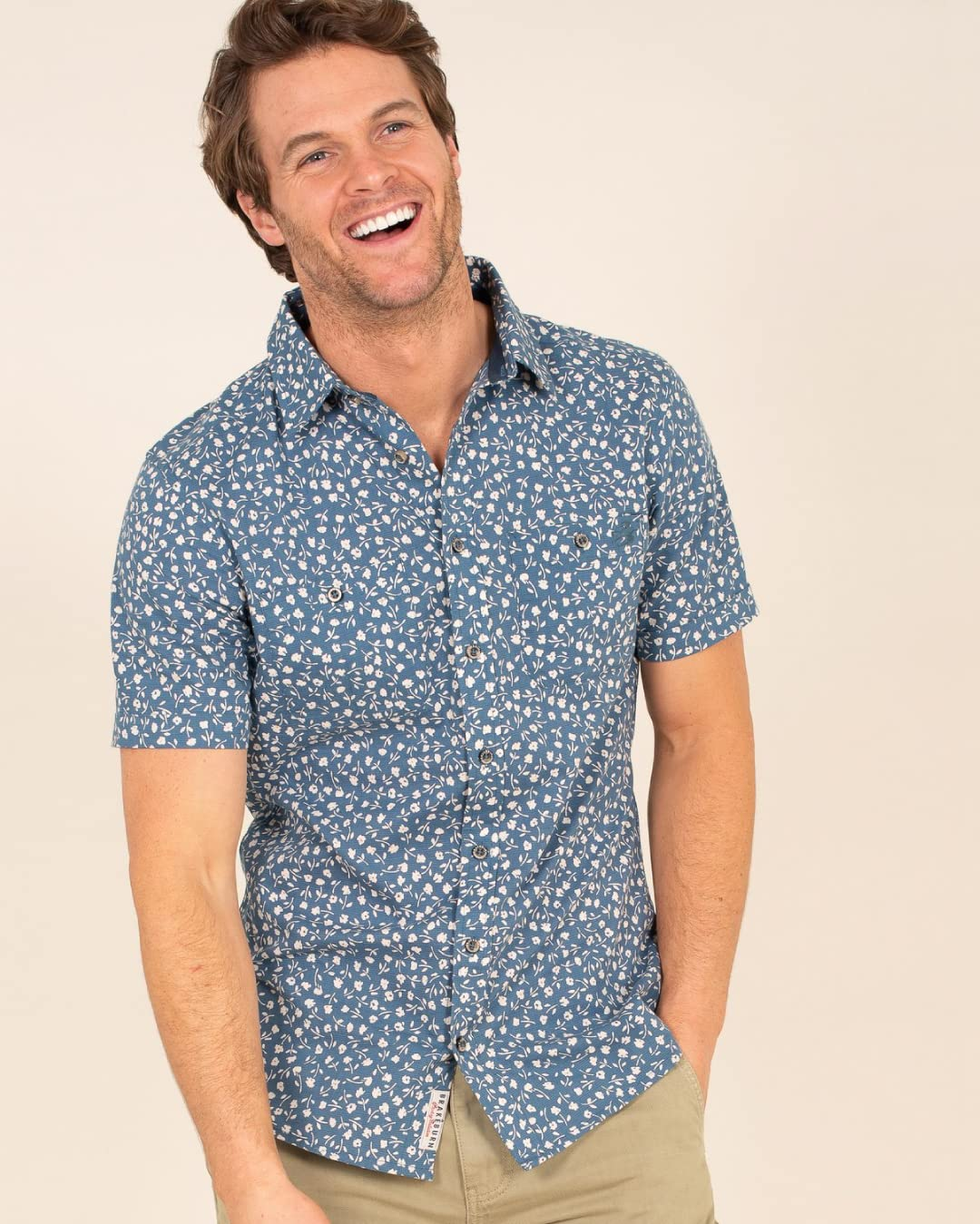 Jolla Navy Shirt Griggs