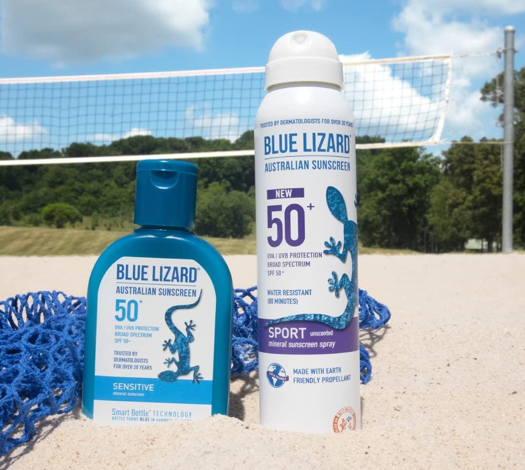 Sunscreen Spray Blue Lizard