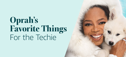 Oprah's Favorite Things for Techiess