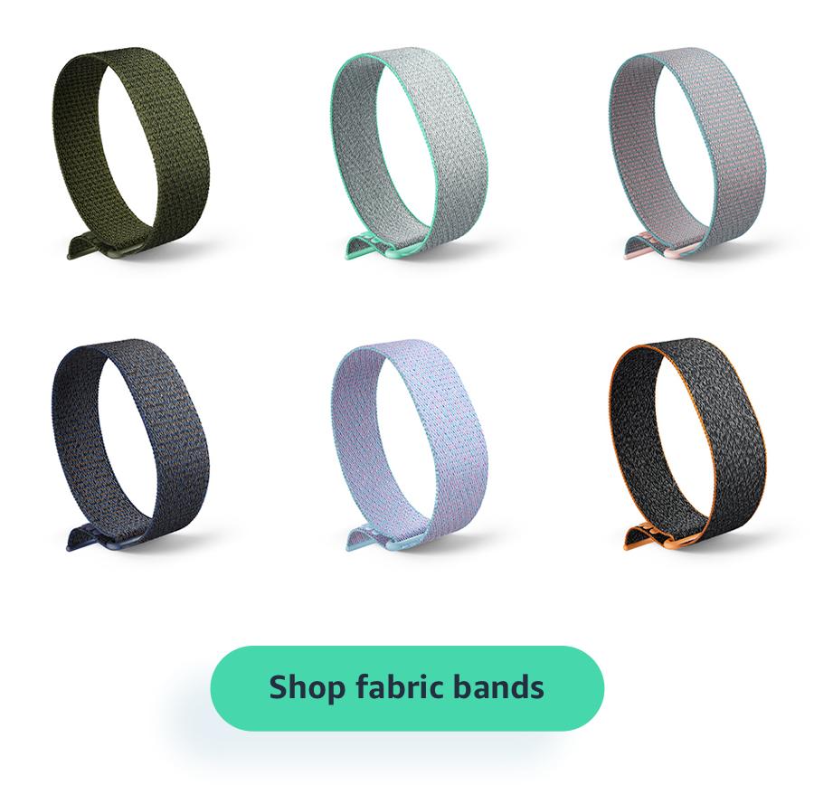 Shop fabric bands