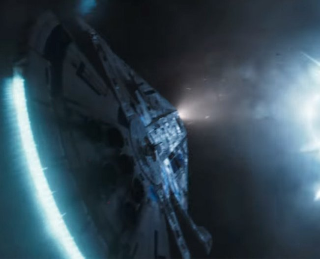 The Millennium Falcon in Solo: A Star Wars Story (2018)