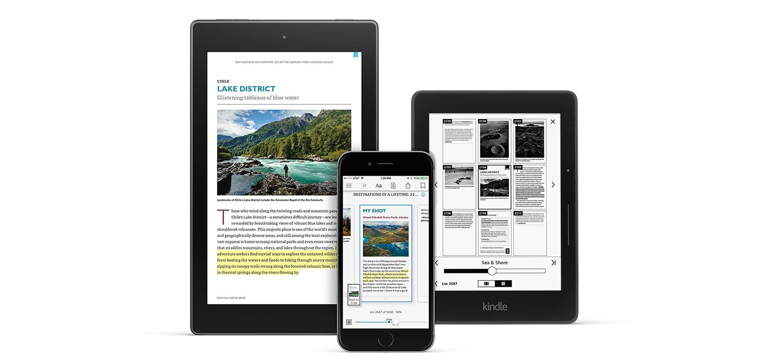 Page Flip is a reimagined Kindle navigation experience that makes it easy