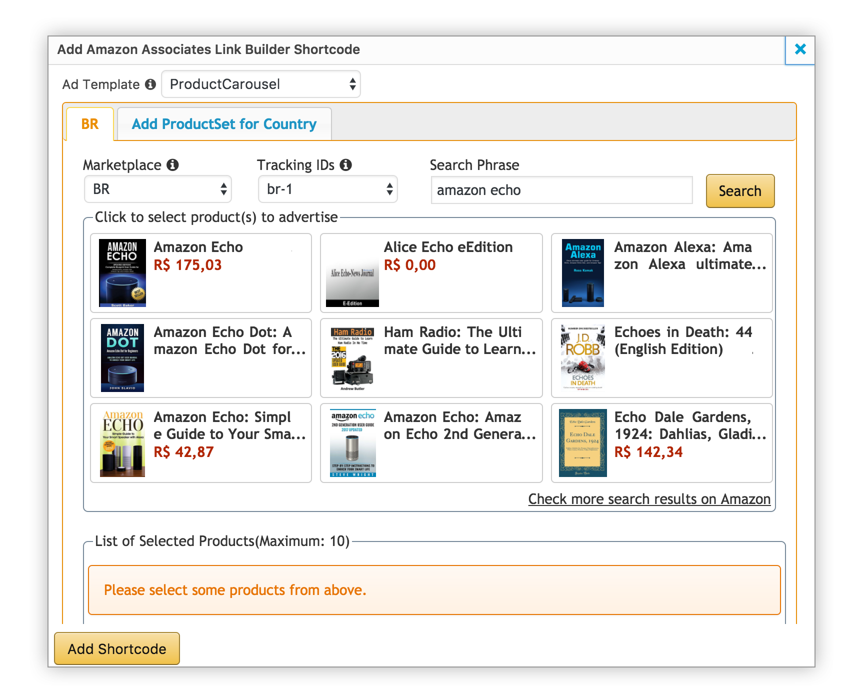Amazon com Associates Central - Resource Center - How To Use The