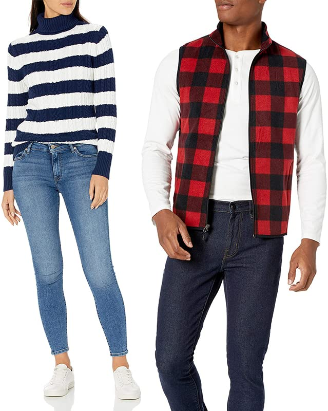Up to 30% off Select Men's and Women's Fashion from Our Brands, including Amazon Essentials, Daily Ritual and Goodthreads