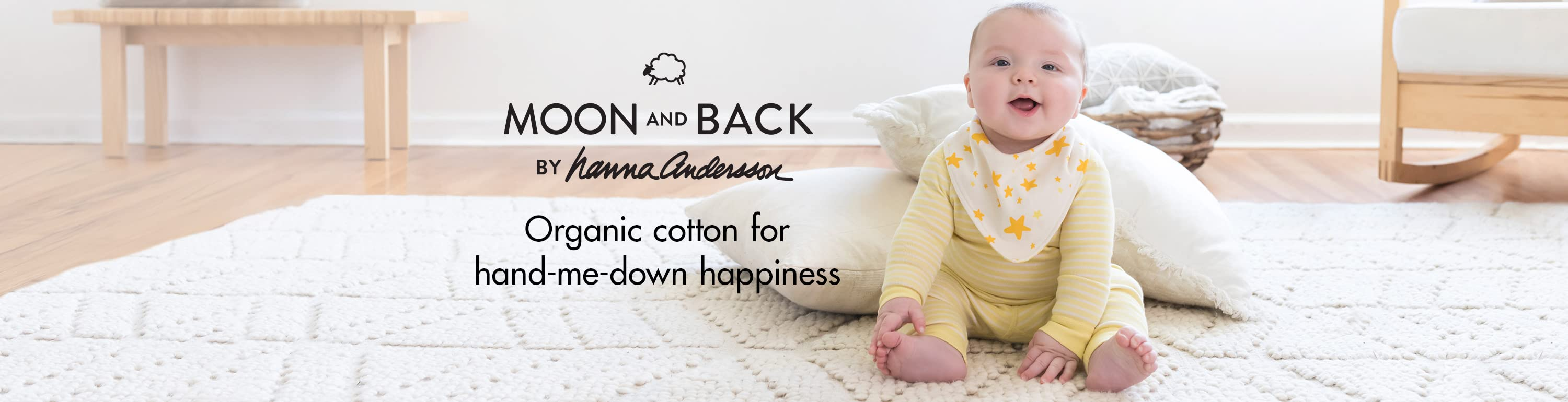 Soft organic clothes from Moon and Back by Hanna Andersson