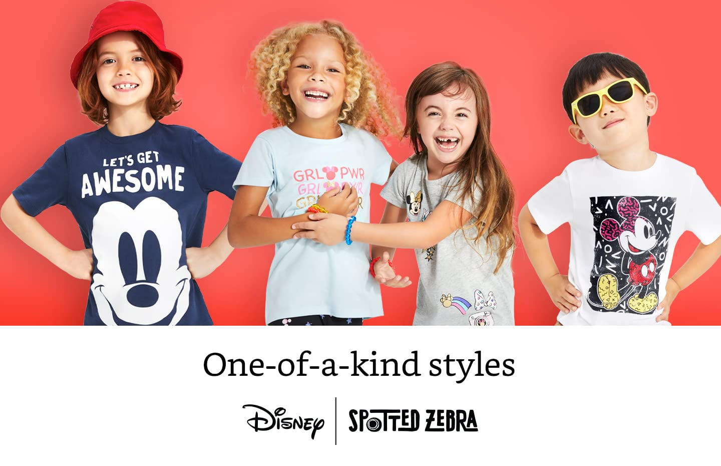 One-of-a-kind styles Disney Spotted Zebra