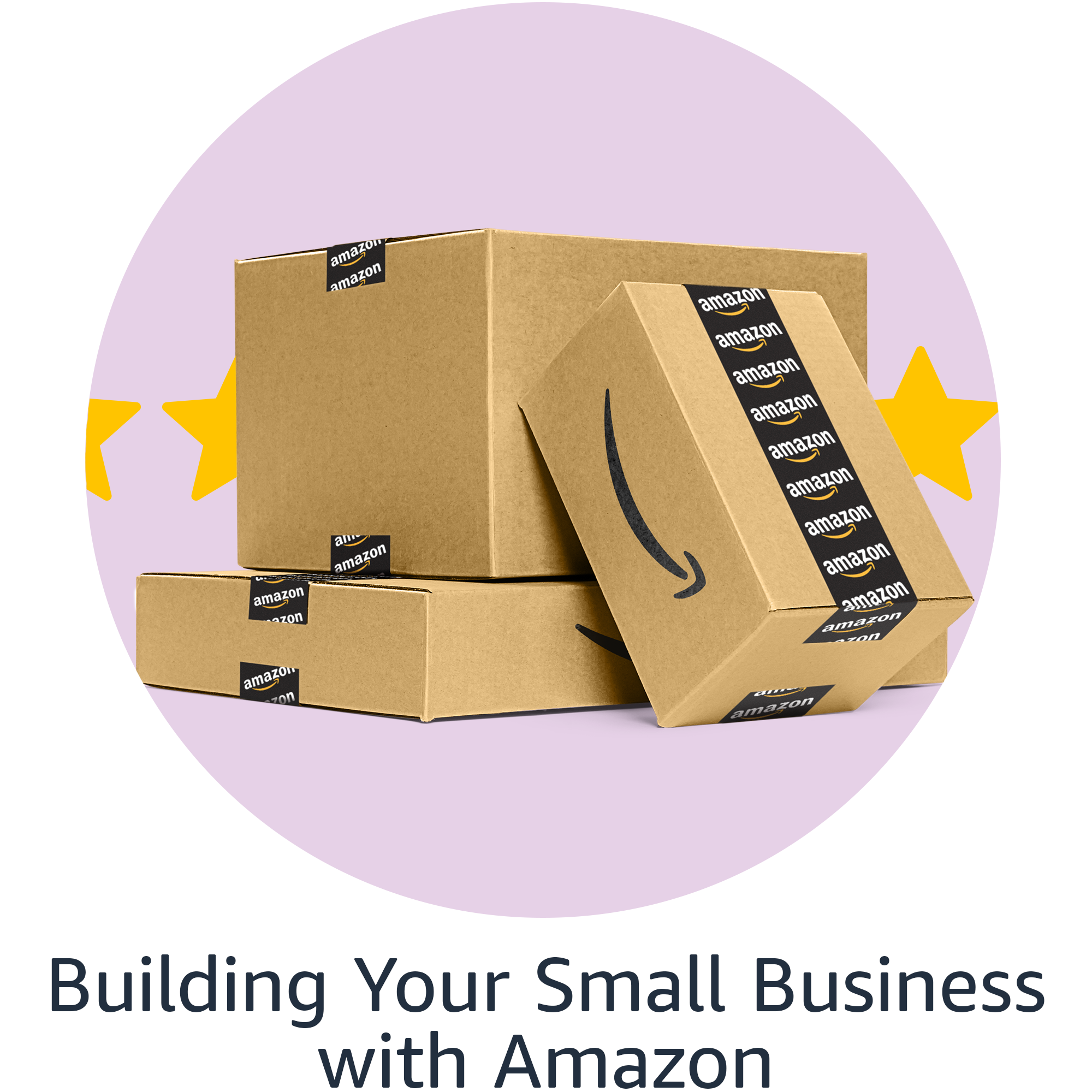 Building your small business with Amazon image link