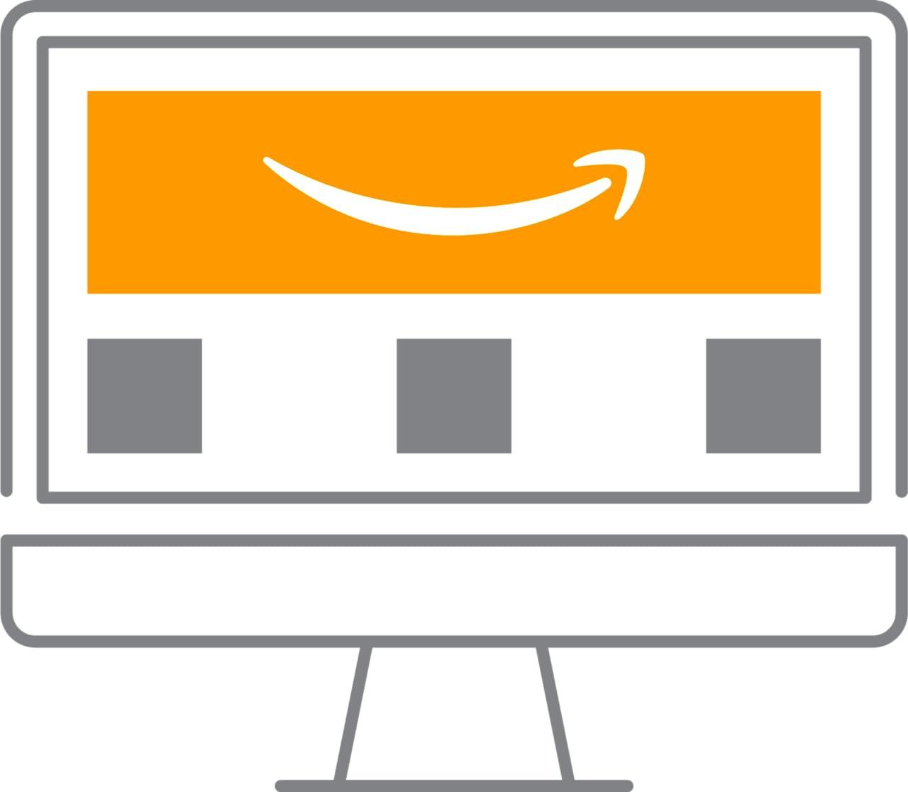 Illustration of a Store on Amazon