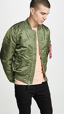 알파 인더스트리 Alpha Industries MA-1 Slim Fit Jacket