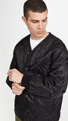 알파 인더스트리 Alpha Industries ALS 92 Liner Jacket,Black