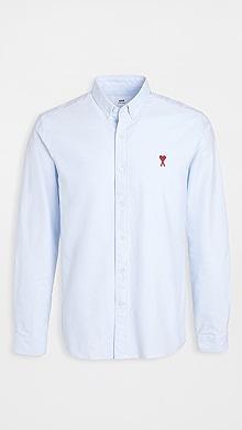 Small AMI Heart Button Down Shirt