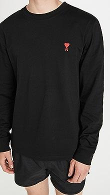 Ami De Coeur Long Sleeve T-Shirt,Noir