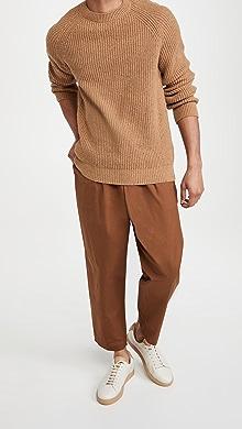 아페쎄 A.P.C. Pull Ludo Sweater,Camel