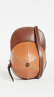 J.W. Anderson Midi Cap Bag,Chocolate/Pecan