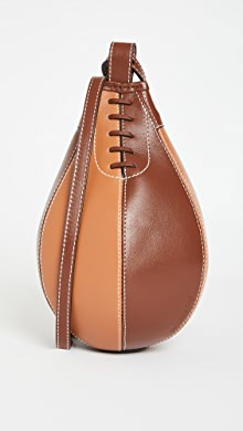 J.W. Anderson Small Punch Bag,Chocolate/Pecan