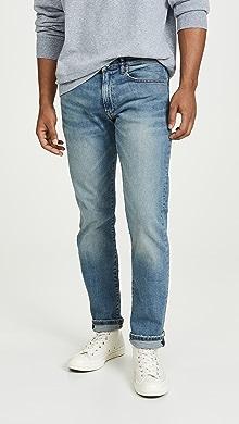 폴로 랄프로렌 Polo Ralph Lauren Varick Slim Straight Fit Jeans,Dixon Light