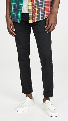 폴로 랄프로렌 Polo Ralph Lauren Slim Fit Stretch Chino Pants,Polo Black
