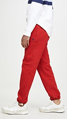 폴로 랄프로렌 Polo Ralph Lauren Fleece Pants,RL 2000 Red