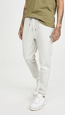 폴로 랄프로렌 Polo Ralph Lauren Double Knit Tech Pants,Grey Heather