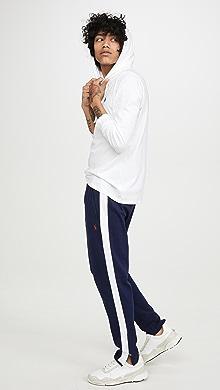 폴로 랄프로렌 Polo Ralph Lauren Interlock Track Pants,Navy