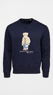 폴로 랄프로렌 Polo Ralph Lauren Magic Fleece Long Sleeve Sweater,Navy